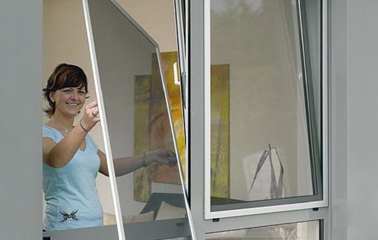 Как снять москитную сетку с окна. Описание демонтажа разных видов