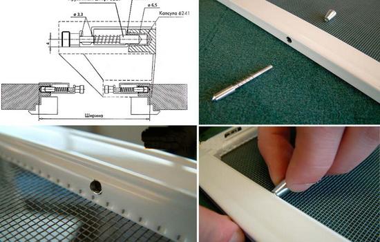Сетка москитная для пластиковых окон. Самостоятельное изготовление