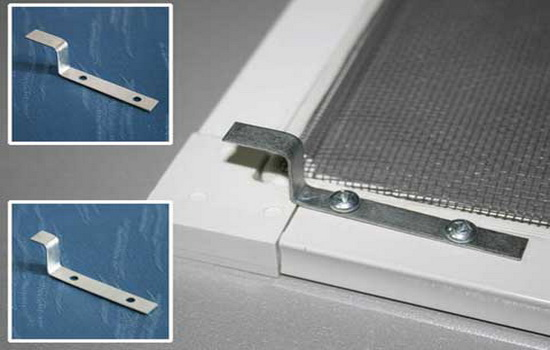 Снятие размеров для сетки с Z-образным креплением