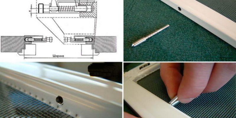 Сетка москитная для пластиковых окон. Самостоятельное изготовление и установка